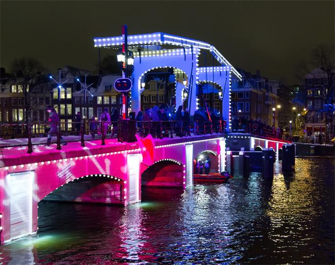 amsterdam lichtroute