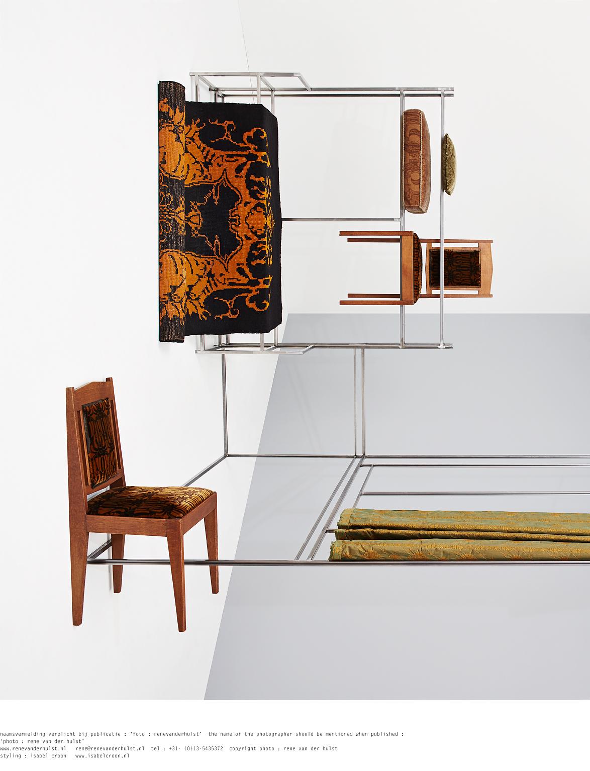 Living spaces 100 jaar textiel in het nederlandse interieur for Bekende nederlandse interieur designers