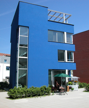 Blue print for Ontwerpprogramma huis